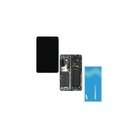 Écran tactile OLED - Galaxy Fold noir SM-F900F