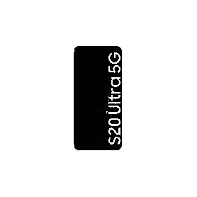 Écran tactile OLED - noir Galaxy S20 Ultra SM-G9888