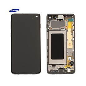 Écran tactile AMOLED Galaxy S10 SM-G973F
