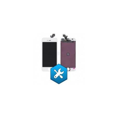 Remplacement ecran iphone 5G 5s blanc