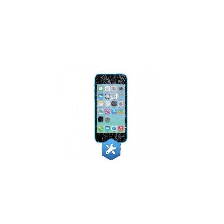 Remplacement ecran iphone 5C blanc noir