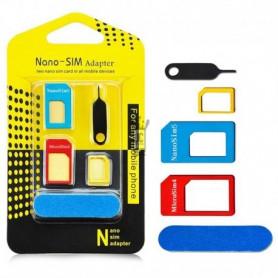 Adaptateur Pour Carte Nano-SIM vers SIM (3 en 1)